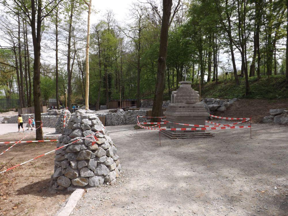 Baustelle Yakgehege/Picknickareal