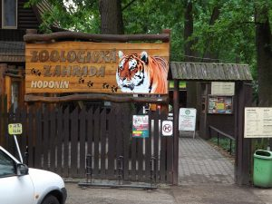 Zoo Hodonin - Eingang