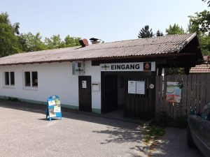 Eingang (Vogelpark Irgenöd)