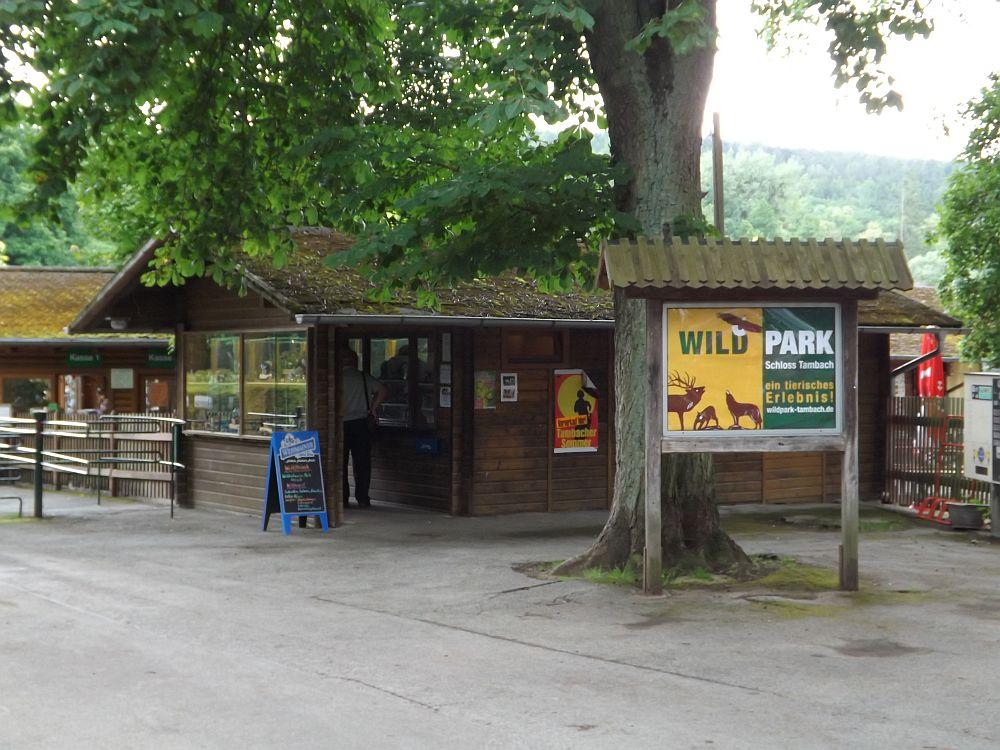 Eingang (Wildpark Schloss Tambach)