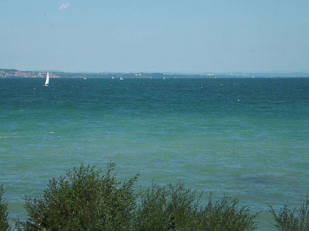 Ausblick auf den Bodensee (vom Sea Life Konstanz)