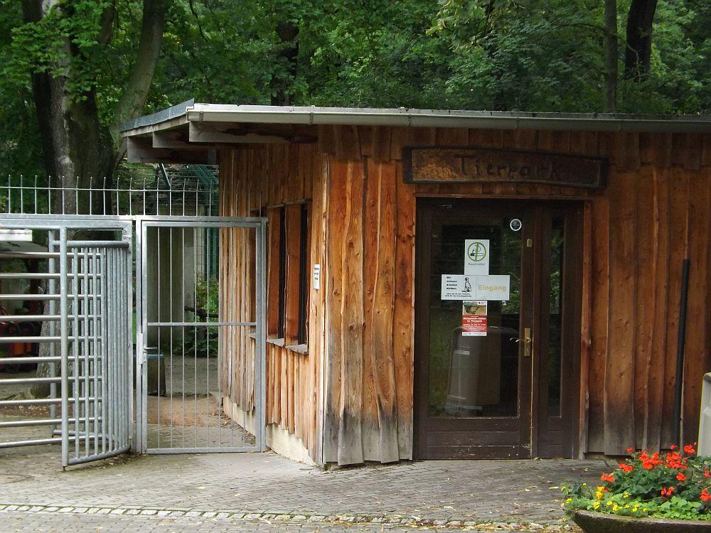 Eingang (Tierpark Chemnitz)