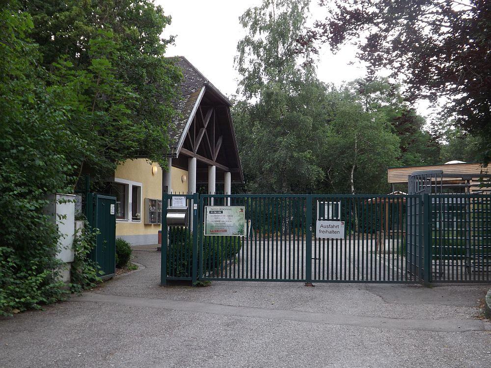 Eingang (Zoo Linz)