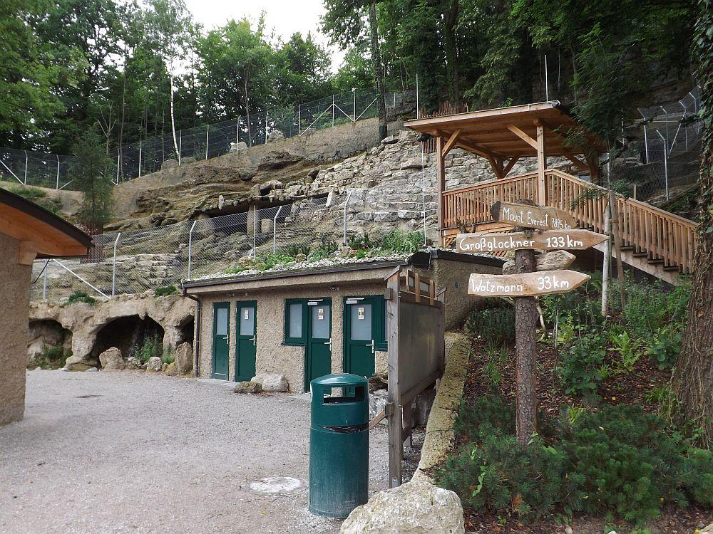 Steinbockgehege (Zoo Salzburg)