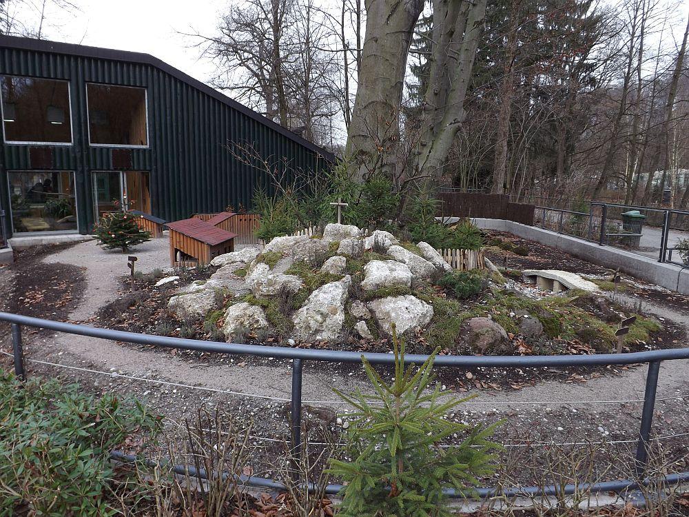 Meerschweinchenaußenanlage (Tierpark Hellabrunn)