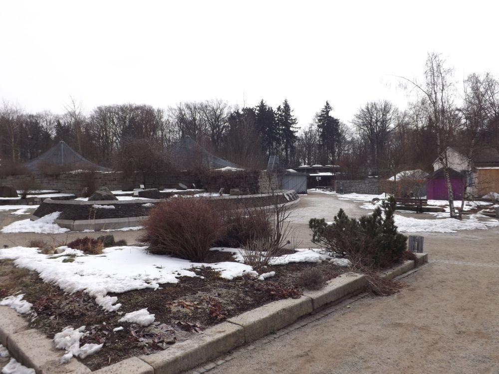 Zoologischer Garten Hof im März