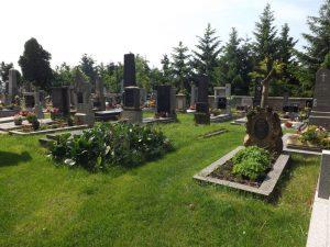 Der Friedhof in Chleby