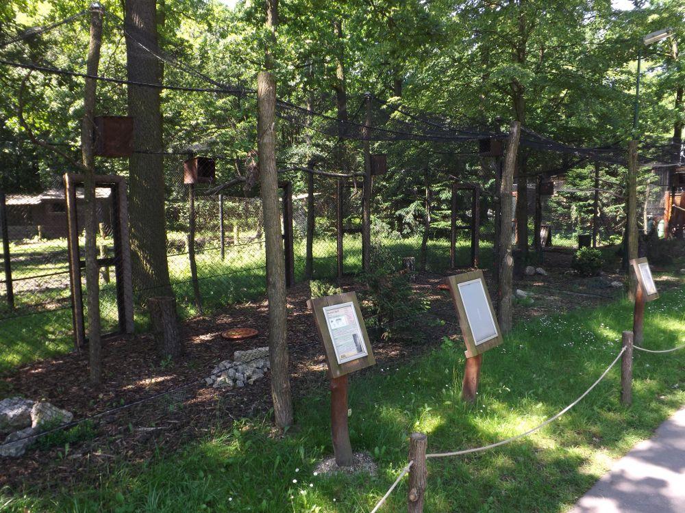 Eulenvolieren (Zoo Hodonin)