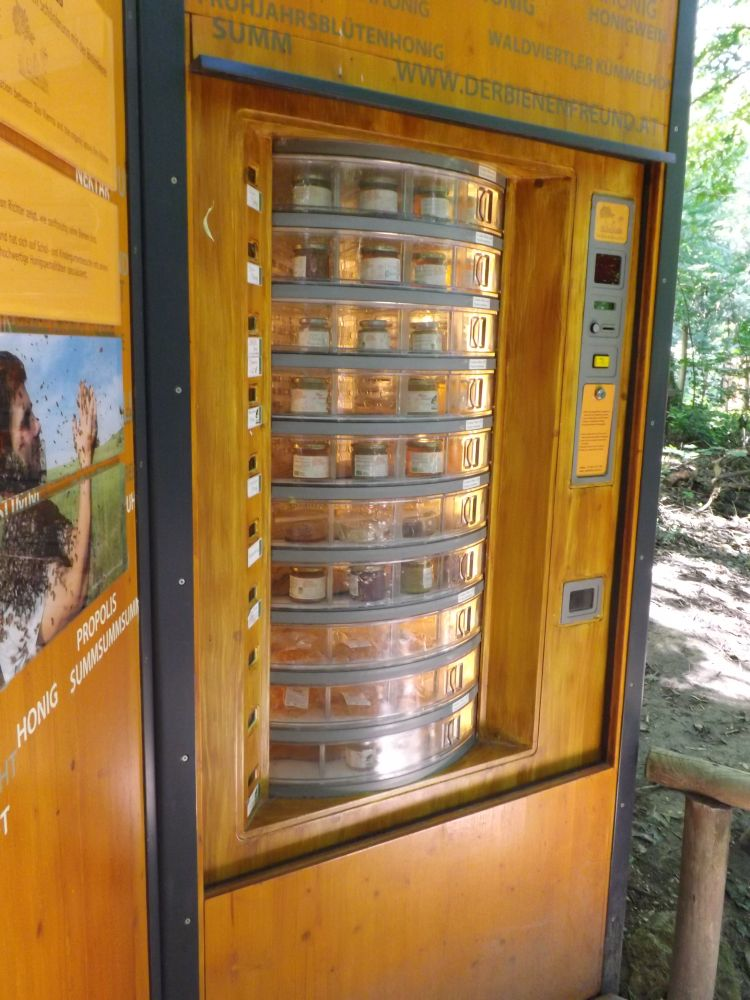 Honigverkauf (Tiergarten Schönbrunn)