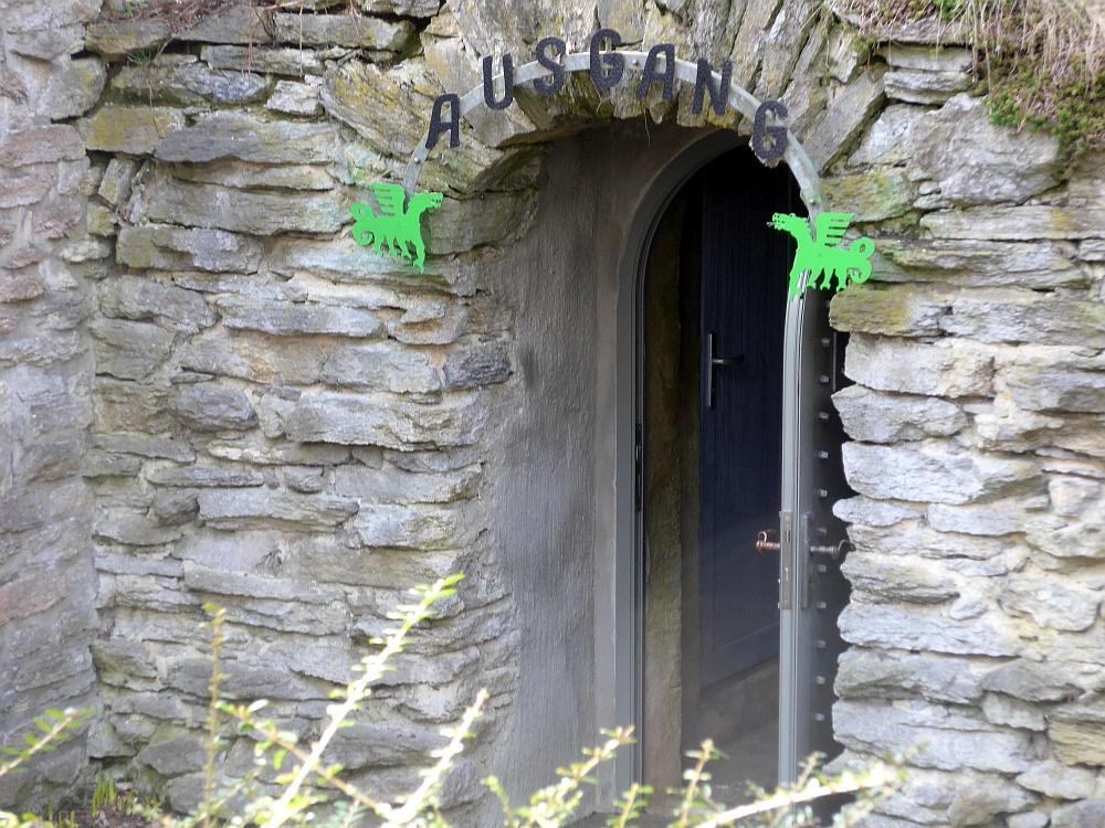 Ausgang der Drachenhöhle Syrau