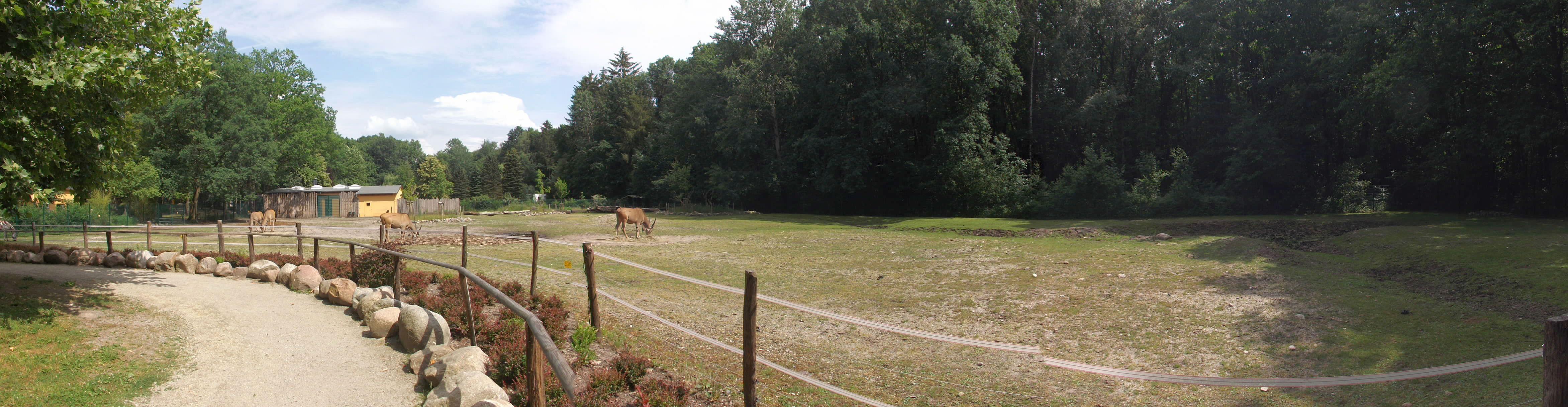 Afrikaanlage (Tierpark Finsterwalde)