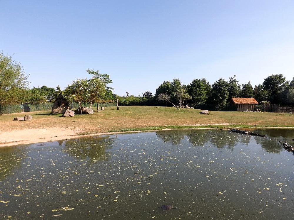 Afrikaanlage (Vogelpark Marlow)