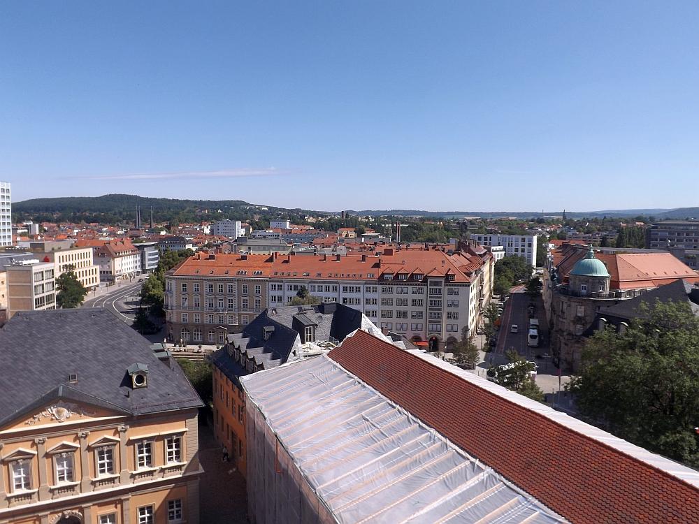 Blick aus dem Schlossturm