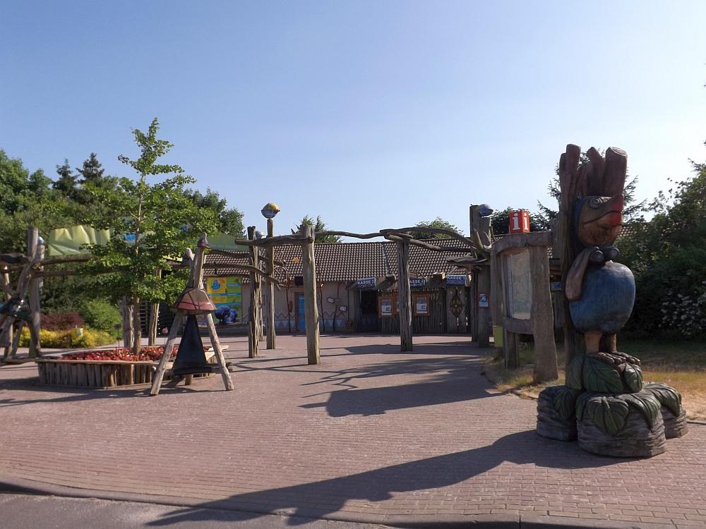 Eingang (Vogelpark Marlow)