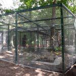 Papageienvolieren (Tierpark Finsterwalde)