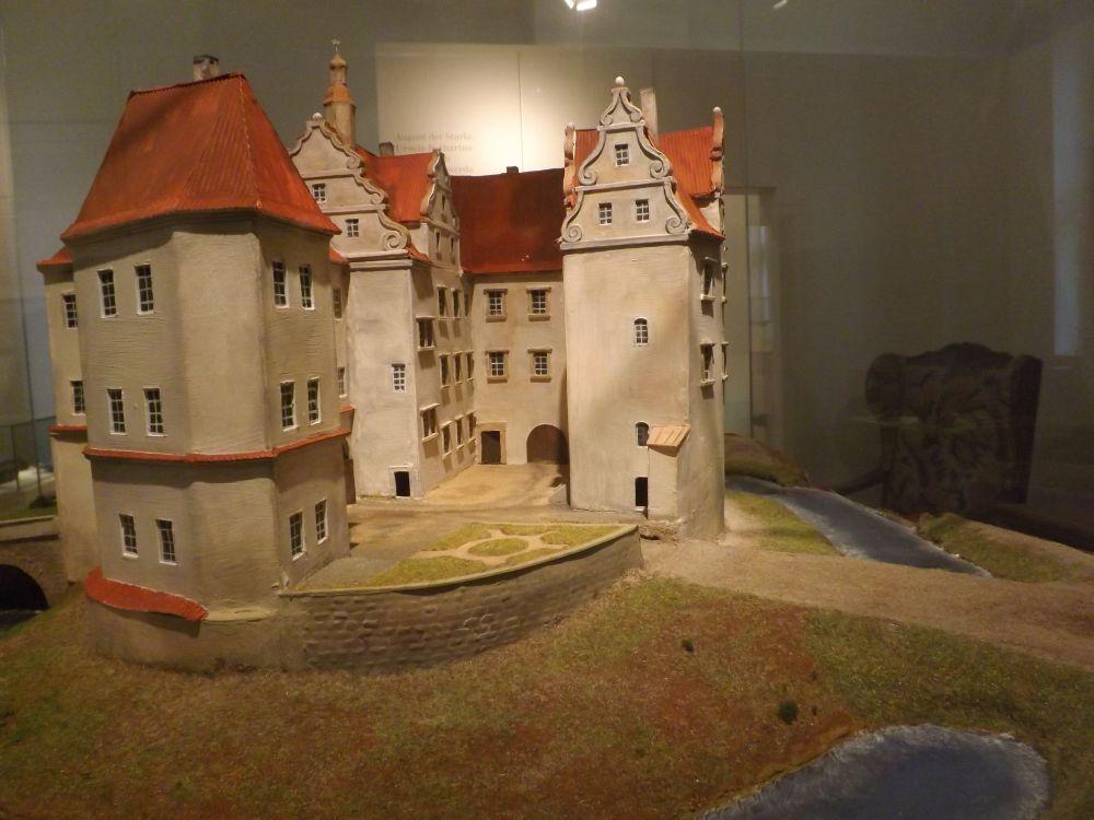 Modell Schloss Hoyerswerda