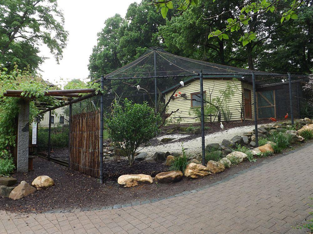 Sichlervoliere (Tierpark Röhrensee, Bayreuth)