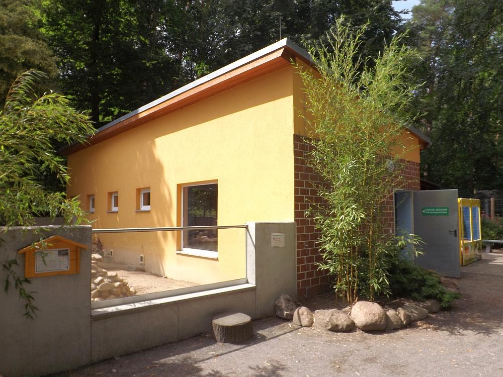 Zebramangustenanlage (Tierpark Finsterwalde)