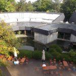 """Blick von der Dachterasse des Restaurants """"Okavango"""" (Zoo Wuppertal)"""