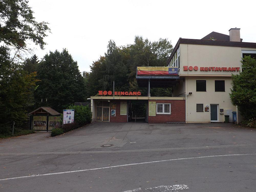 Eingang (Zoo Neunkirchen)