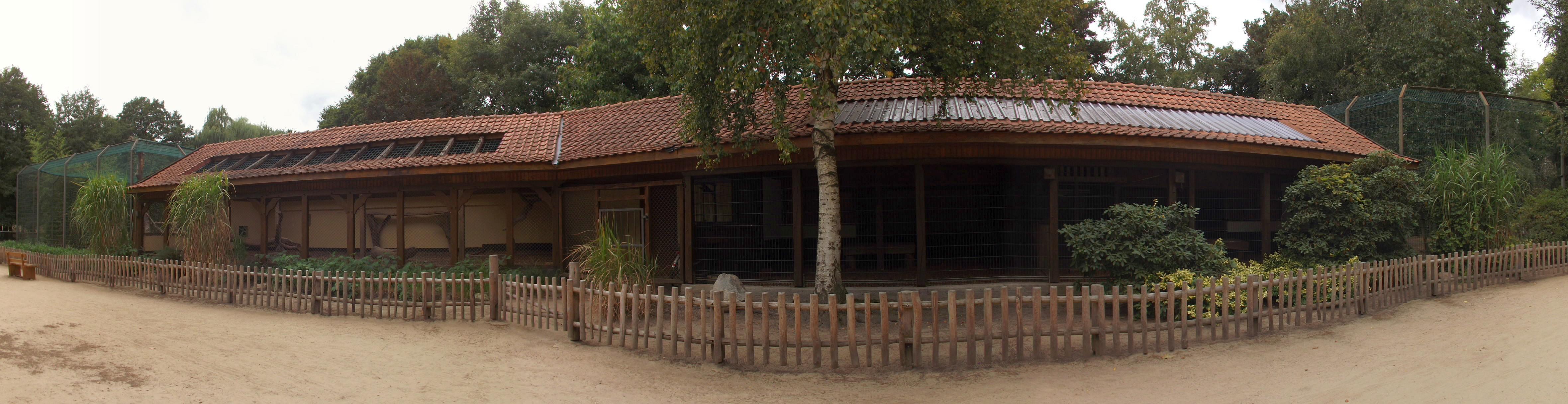 Anlagen für Puma und Tiger (Naturtierpark Ströhen)