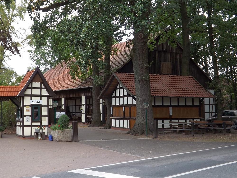 Eingang (Naturtierpark Ströhen)
