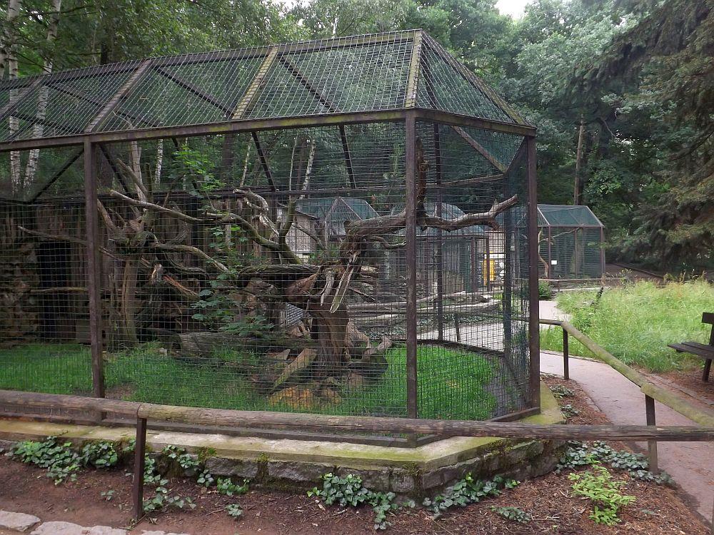 Anlage für Kleinraubtiere (Zoopark Chomutov)
