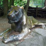 Löwenplastik (Tierpark Hellabrunn)