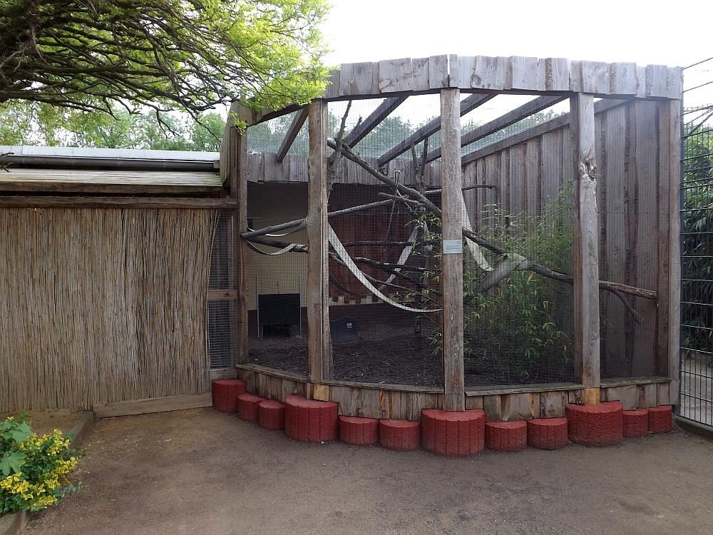 Außenanlage für Südamerikanische Tiere (Tiergarten Worms)