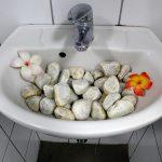 Krua Thai - Waschbecken auf dem Herren-WC