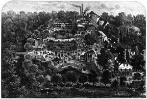 """Zoologischer Garten in Leipzig,1880 (""""Nach einem Holzschnitt im Besitze des Stadtgeschichtlichen Museums der Stadt Leipzig"""")"""
