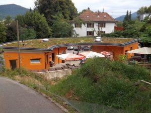 Eingang, vom Zoo aus gesehen (Schwarzwaldzoo Waldkirch)