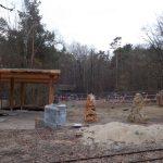 Baustelle bei den Addax/Wildeseln (Tiergarten Nürnberg)