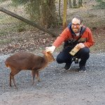 Muntjak und ich (Wildparadies Tripsdrill)