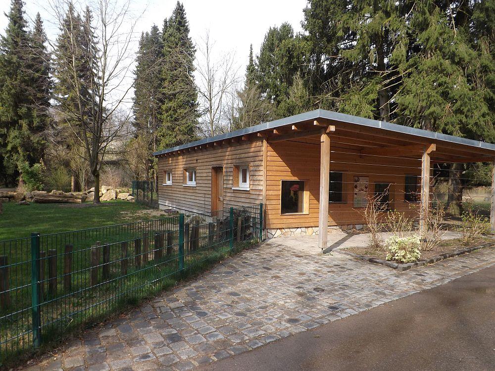 Spornschildkrötenanlage (Zoo Augsburg)
