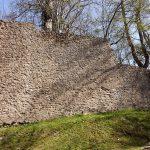 Mauerreste der Harzburg