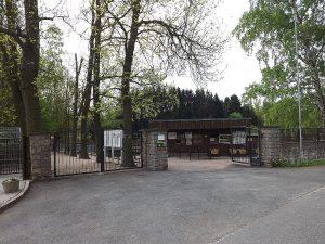 Eingang (Tierpark Hirschfeld)