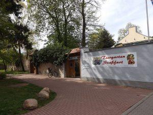 Eingang (Tiergarten Staßfurt)