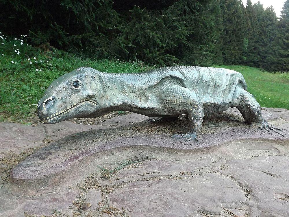 Protorosaurus speneri (Sauriererlebnispfad Georgenthal)
