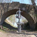 Statue des Sachsengottes Krodo