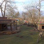 Anlage für Kleine Pandas, Kraniche und Schopfhirsche (Zoo Halle)